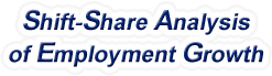 Shift-Share Analysis of Florida Employment Growth and Shift Share Analysis Tools for Florida